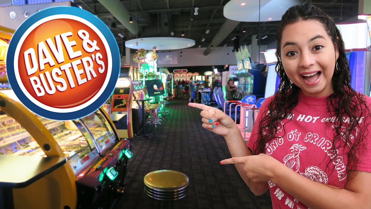 Having A Blast At Dave Buster S Arcade Youtube