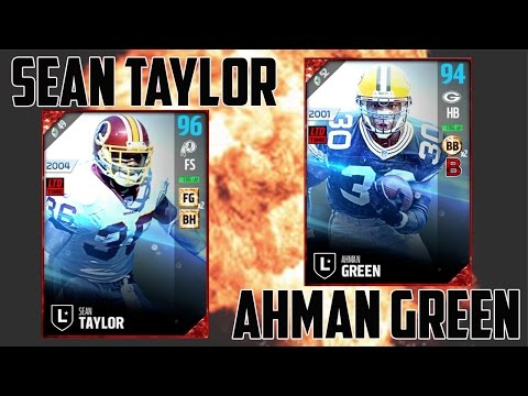 Limited Sean Taylor, Ahman Green and Night Train Lane Gameplay!!! - Madden 17 Ultimate Team