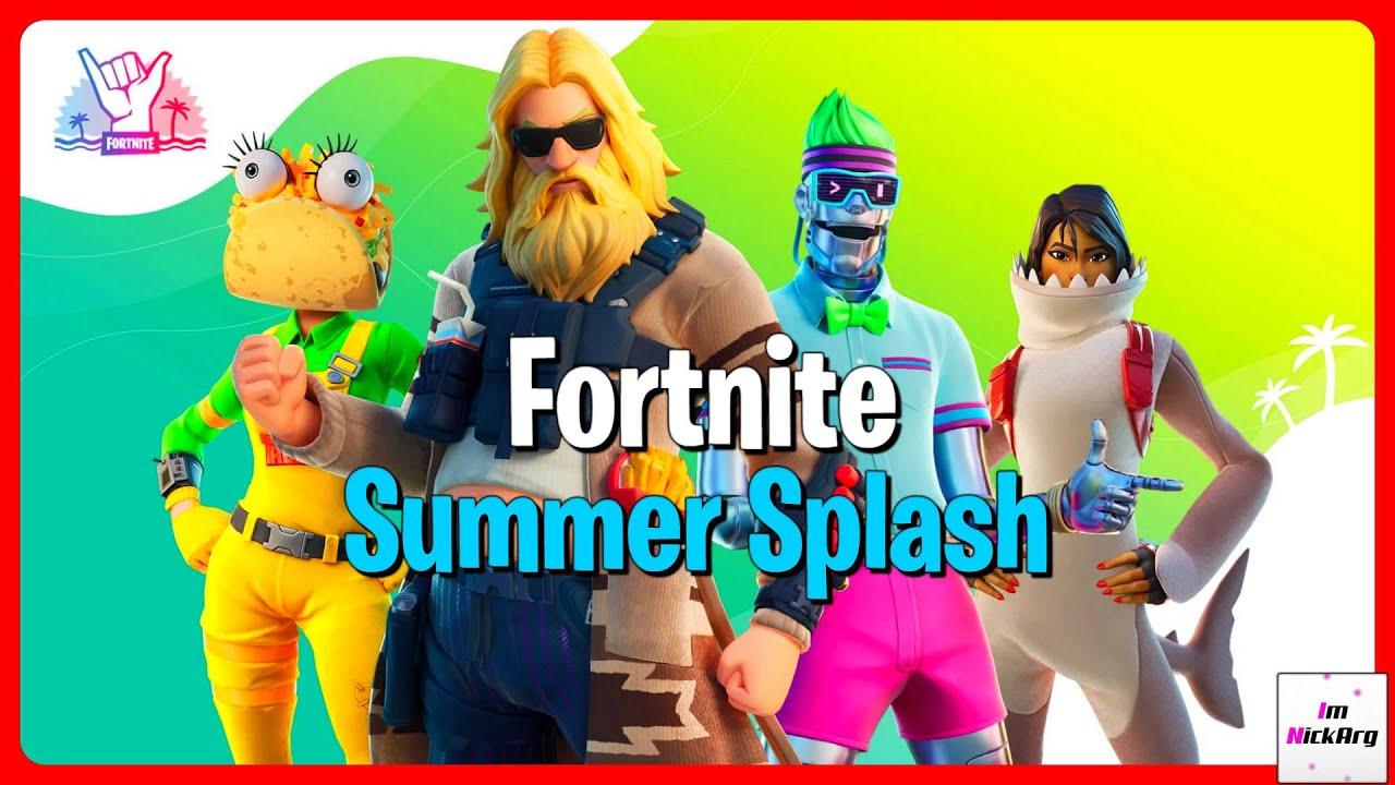 *NEW* Summer Splash Event! (Rewards, Skins & MORE) | Fortnite