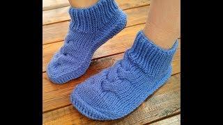 Тапочки   носки на подошве
