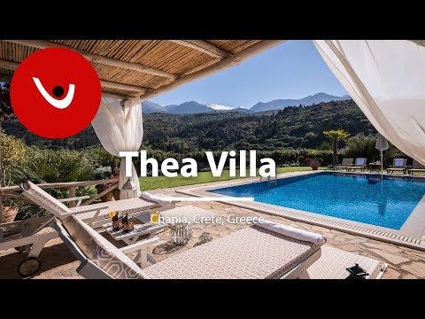 Thea Villa to Rent in Chania Crete Greece | Unique Villas | uniquevillas.gr