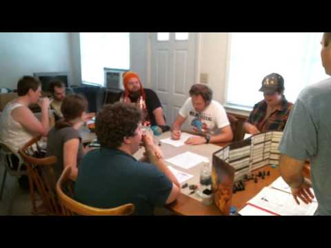 AD&D Actual Play - 2016-07-24- The Scar Session Two Part 1 of 5