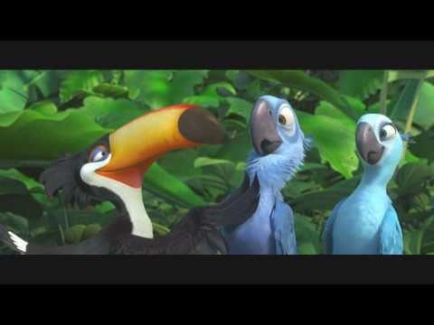 """QuickMovieInfo - RIO - (2011 HD Movie Trailer """"C"""") Jesse Eisenberg, Anne Hathaway, George Lopez"""