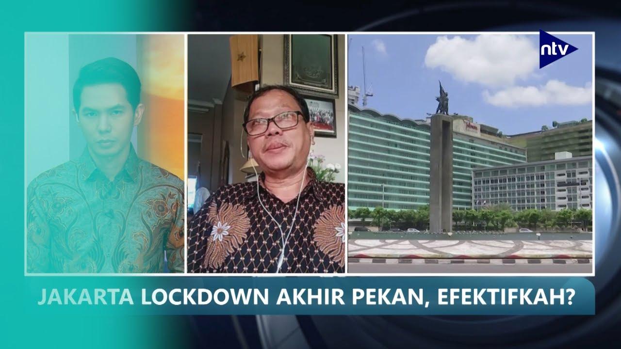 Pemprov DKI Jakarta Berencana Lakukan Lockdown Akhir Pekan, Efektifkah?