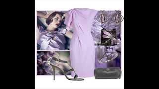 Сиреневый цвет в одежде --  истинная романтика