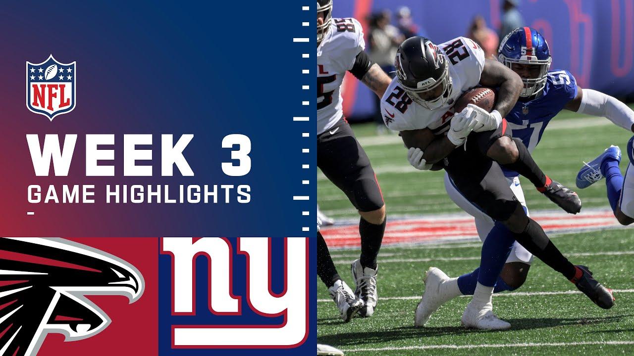 Download Falcons vs. Giants Week 3 Highlights | NFL 2021
