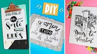 DIY: Molduras Criativas e Baratas! Feat. Arte e Vocal! Por Isabelle Verona