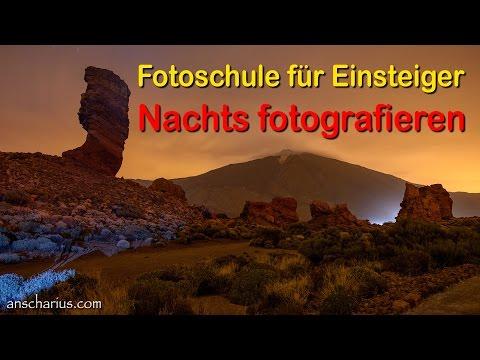 Fotoschule - Nachts Fotografieren - Teil 4 oder 5 - Teneriffa 2015 - Deutsch - HD 720p