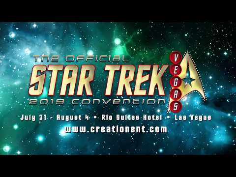 New guests added to lineup of Star Trek Las Vegas 2019