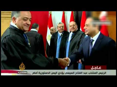 Sisi takes power in Egypt