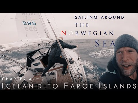 Sailing from Iceland to Faroe Islands. Gale force Chaos! Chapter 4.