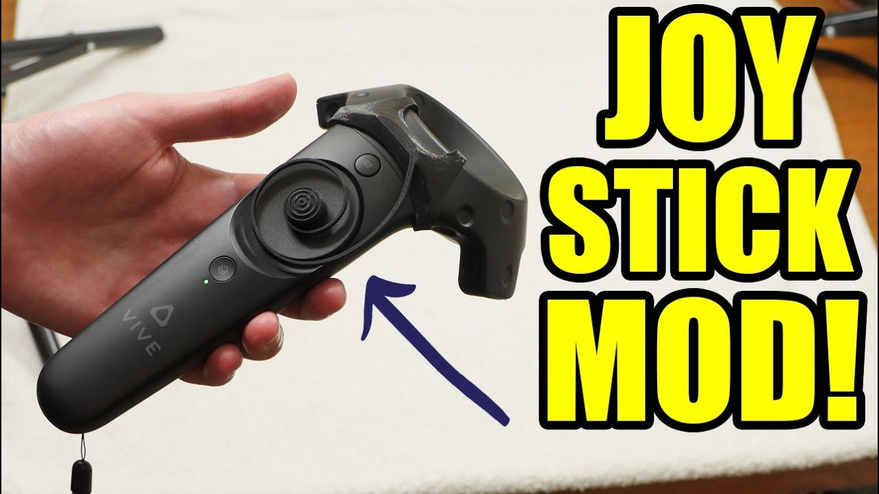 New Joystick Mod for Vive Controllers! | Review