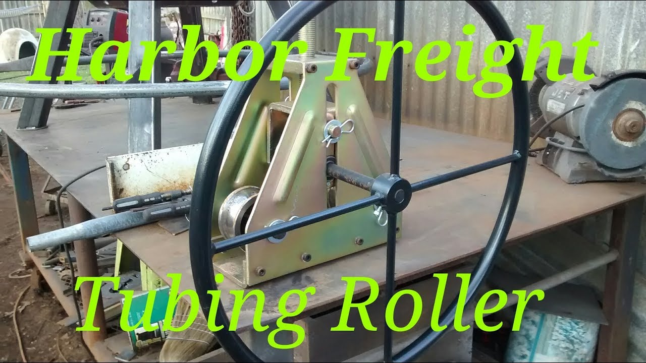 Harbor Freight tubing roller review