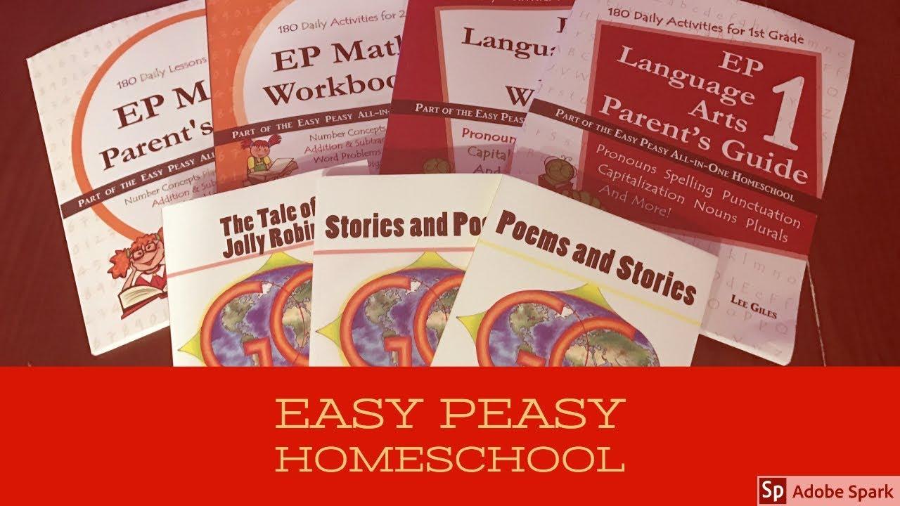Easy Peasy All in One Homeschool Curriculum & Genesis Curriculum Readers