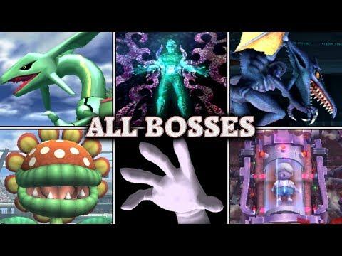 Super Smash Bros. Brawl - All Boss Fights (Intense, No Damage)