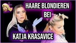 Katja Krasavice schneidet sich Haare mit Küchenschere🔥kein Clickbait| Jenny König