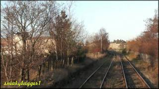 Aberdeen Station to Waterloo Yard aboard 66116 (Real Time)