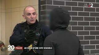 """Police : au cœur d'une cité sensible """"Les Tarterêts"""" / JT du jeudi 8 février 2018"""