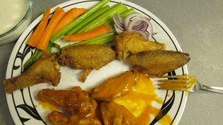 Crispy Oven Fried Buffalo Chicken Wings