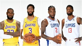 Lakers vs Clippers Stream!!!! Welcome Back NBA!