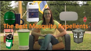 Reclaim Your Backyard with Large Scale Mosquito Repellents