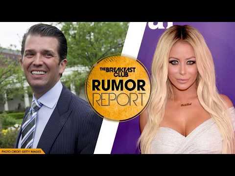 Donald Trump Jr Reportedly Had Affair with Aubrey O'Day