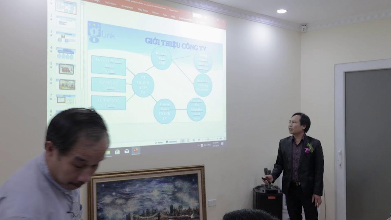 glink Apps Vietnam - Mr David's Presentation