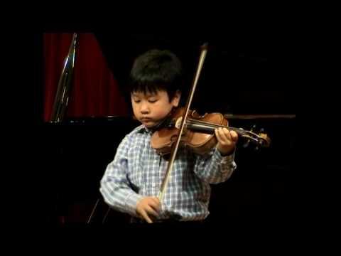 JS Bach - Partita for solo violin no. 3 in E Major BWV 1006 Preludio