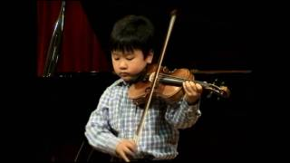 JS Bach - Partita for solo violin no. 3 in E Major BWV 1006 Preludio