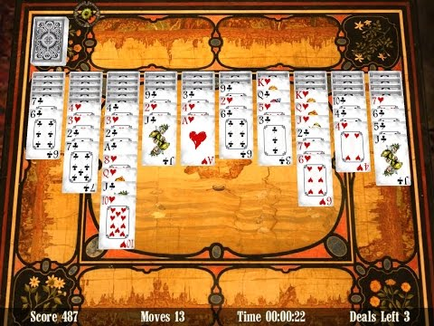 Spider Solitaire 3D (iOS · Mac · Android · Kindle) · Promo 1