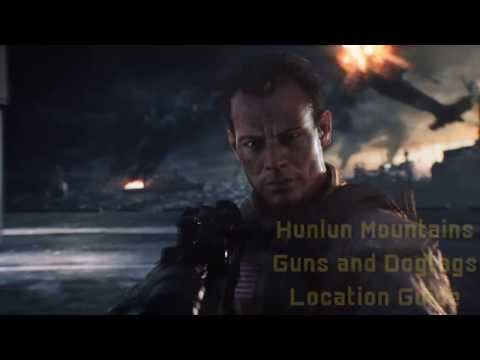 BF4 Guns And Dogtags Location Guide Part 5 - Hunlun Mountains