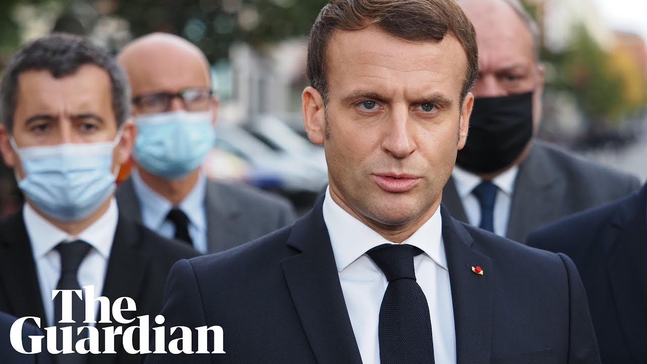 Nice knife attack: France 'will not give into terrorism' says Macron ...