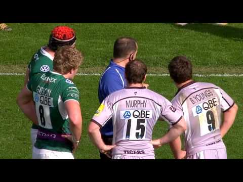Ben Youngs attack on Jamie Gibson - Cited