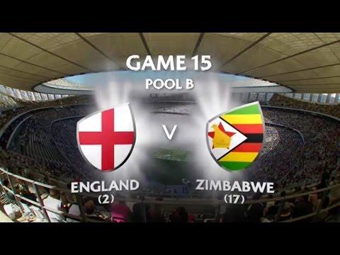 England vs Zimbabwe Capetown 7s 2015/16
