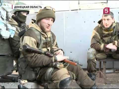 Российские журналисты попали под обстрел в районе Донецка