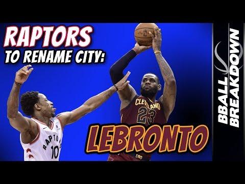 RAPTORS Need To Rename City: LeBronto