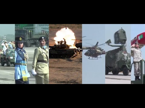 Pakistan's Armed Forces Massive Power Show |Sends Message to India |Military parade PakistanDay 2018