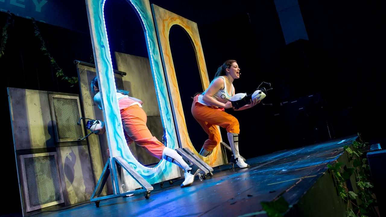 Portal 2 The Unauthorized Musical 2017 Production Youtube