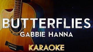 Butterflies - Gabbie Hanna (Acoustic Guitar Karaoke Instrumental)