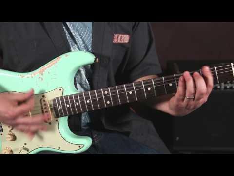 Jimi Hendrix Guitar Lesson - Freedom - Main Riff, Opening Licks Fender Strat
