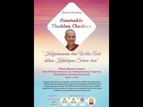 Jealousy : Venerable Thubten Chodron - Wihara Ekayana Serpong