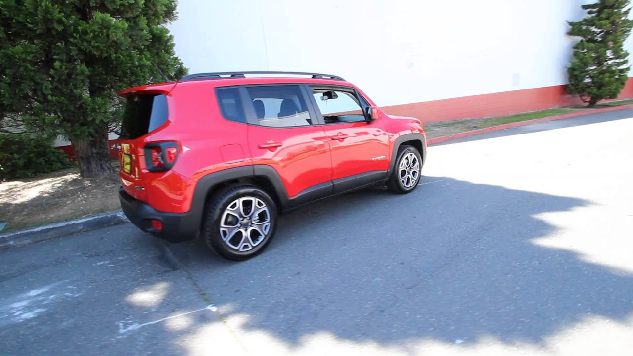 2015 Jeep Renegade Latitude Colorado Red FPB