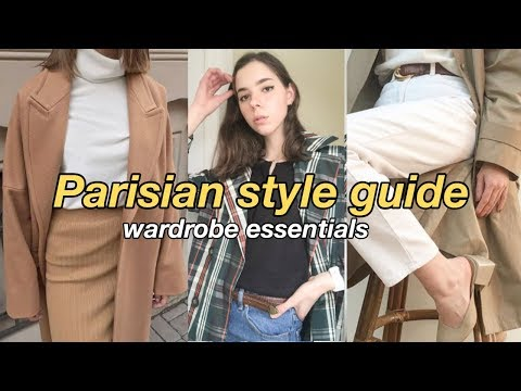 Parisian Style Guide // My style Essentials