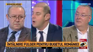 Întâlnire fulger pentru bugetul României