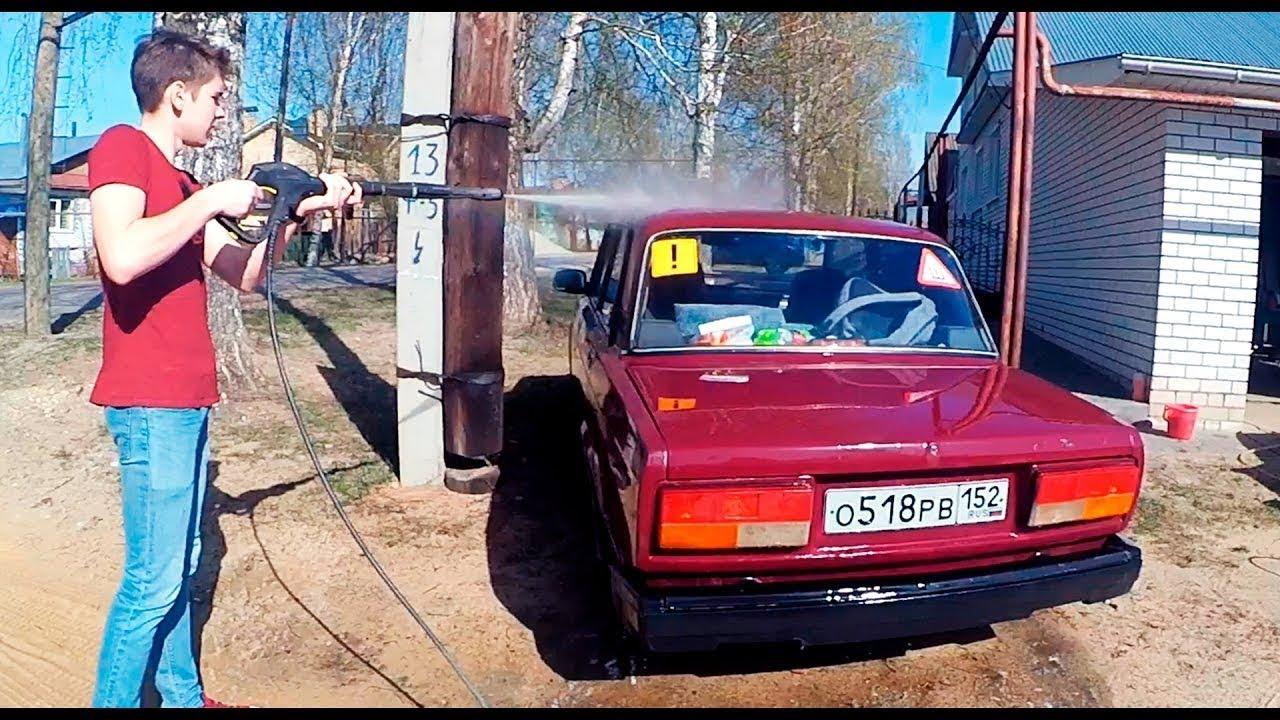 авто тюнинг ваз 2107 - YouTube