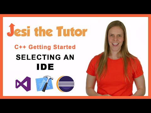 C++ - Getting Started - Selecting an IDE - Windows and Mac