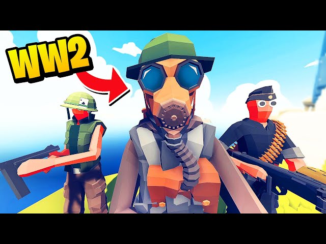 NEW Unit Creator - I Made an Epic WW2 FACTION! - TABS Totally Accurate Battle Simulator