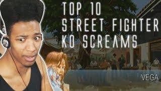 ETIKA REACTS TO TOP 10 STREET FIGHTER KO SOUNDS | ETIKA STREAM HIGHLIGHT