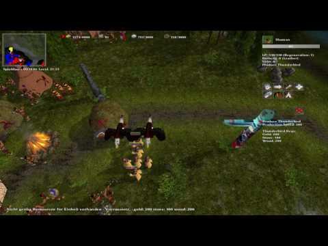 MegaGlest Multiplayer fight  ( Coop vs AI )