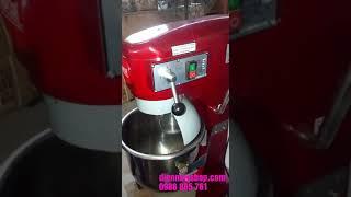Máy đánh trứng 20l màu đỏ. (Model: MA-20A) Liên hệ: 0988885761, (Điện Máy Shop)